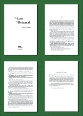 THE LAW OF BETRAYAL is a contemporary legal suspense.