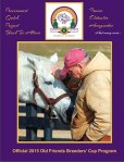 Click to view entire Old Friends 2015 Breeders' Cup Program